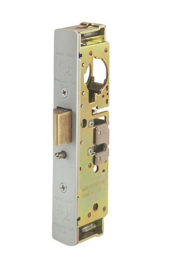 "Adams Rite Door Deadlatch, Heavy Duty, 1-1/8"" Backset, 2-5/8"" Flat Strike, Anodized Faceplate Adams Rite"