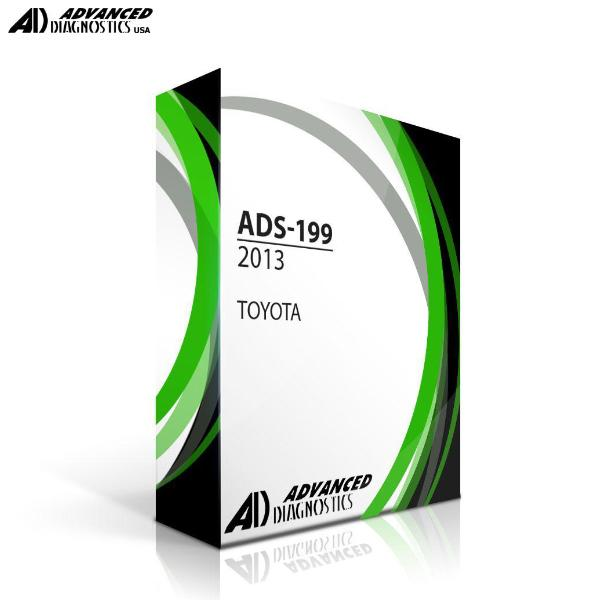 Advanced Diagnostics TOYOTA 2013 ADS 199 (FOR PRO LEVEL ONLY) FOR T-CODE SOFTWARE Advanced-Diagnostics