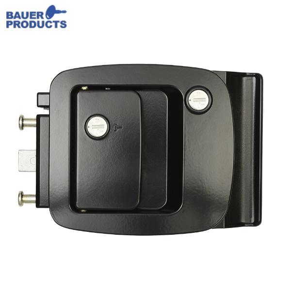 BAUER Lock On Paddle & Deadbolt Bp-12rv C/S 8 - BAU BP 12RV BAUER