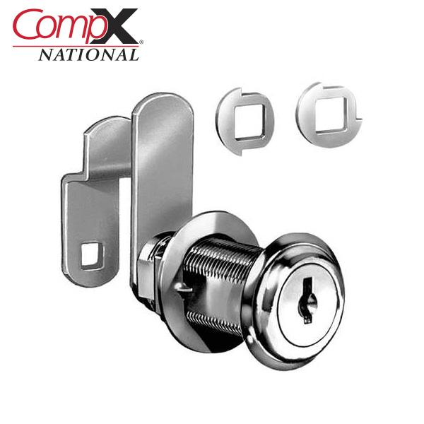 CompX C8075 14A C346A 1 7/16,disc Tumb Cam Lock,ka Nickel National Wafer 25 B/x CompX