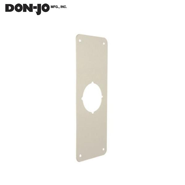 "DON-JO RP 13509 612 Remodeler Plate, 3 1/2"" X 9"" .032"" Thick,sat. Bronze DON-JO"