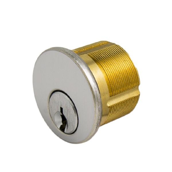 "GMS M100 MX NK 26D AT Mortise Cylinder, 1"", -NO KEY-, 5 Pin MX Keyway GMS"