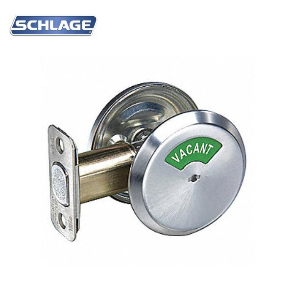 Grade 2 Indicator, 12-287 Bolt Triple Option, Satin Chrome - SCH B571 626 SCHLAGE
