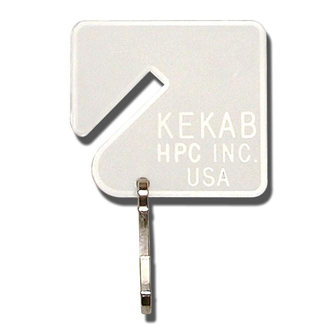 HPC PLT-1 Plain Key Tag for Kekabs Key Cabinets (100/pk) HPC