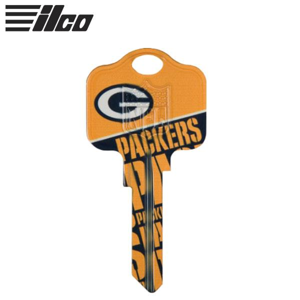 ILCO KW1 GREEN BAY PACKERS NFL KEY BLANK ILCO