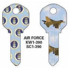 Jet Air Force Keyblank JET
