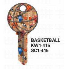 Jet Basketball Keyblank JET