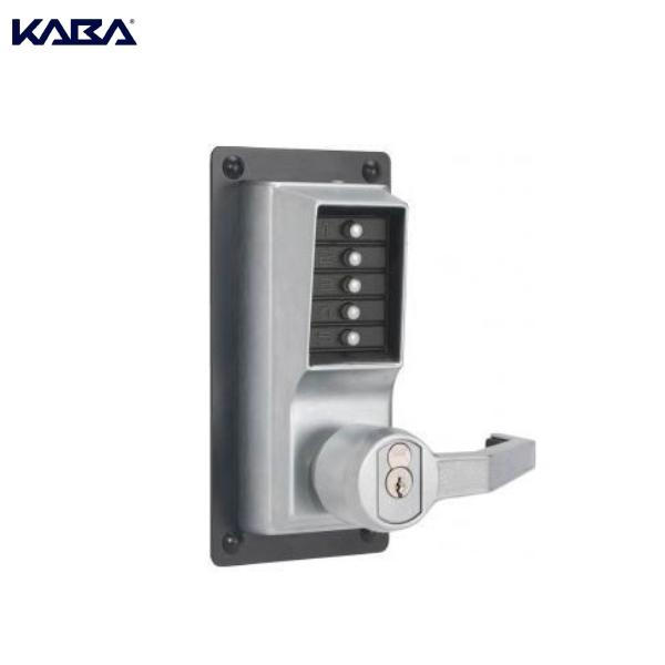 KABA SIMPLEX LRP1020S 26D 41 Lever For Exit Device, Rh Sch Key-bypass,chrome,less Cyl KABA