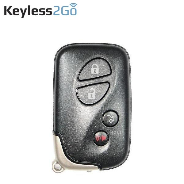 KEYLESS2GO 4 BUTTON PROXIMITY SMART KEY FOR LEXUS HYQ14AAB / BOARD 0140 / 89904-30270 Keyless2Go