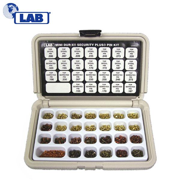 LAB SECURITY PLUS Mini Dur-X Rekeying Kit LAB