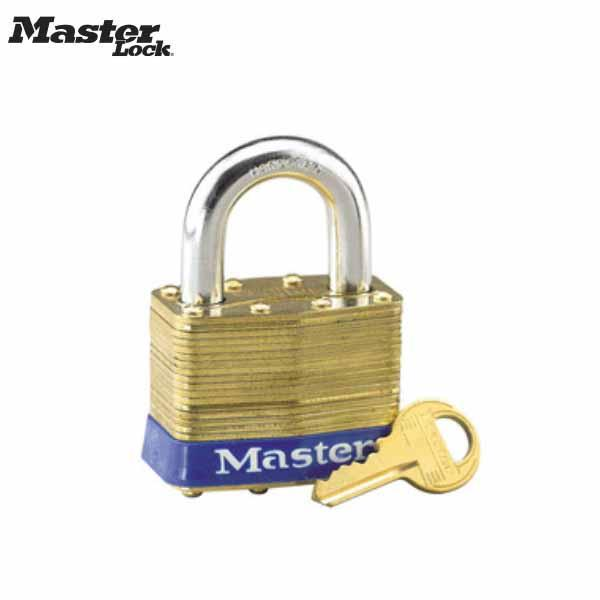 "MASTER 6 D #6, 2"" Wide Lam.brass Body Master"