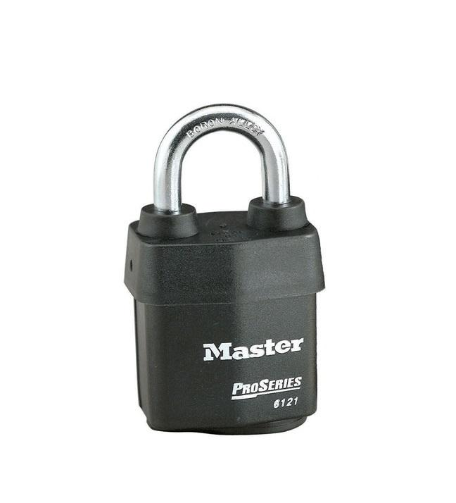 "MASTER 6121KZW1 2 1/8""weather Tough Pro Series 1k Kwy, 0 Bitted, 6/bx 24/cs Master"