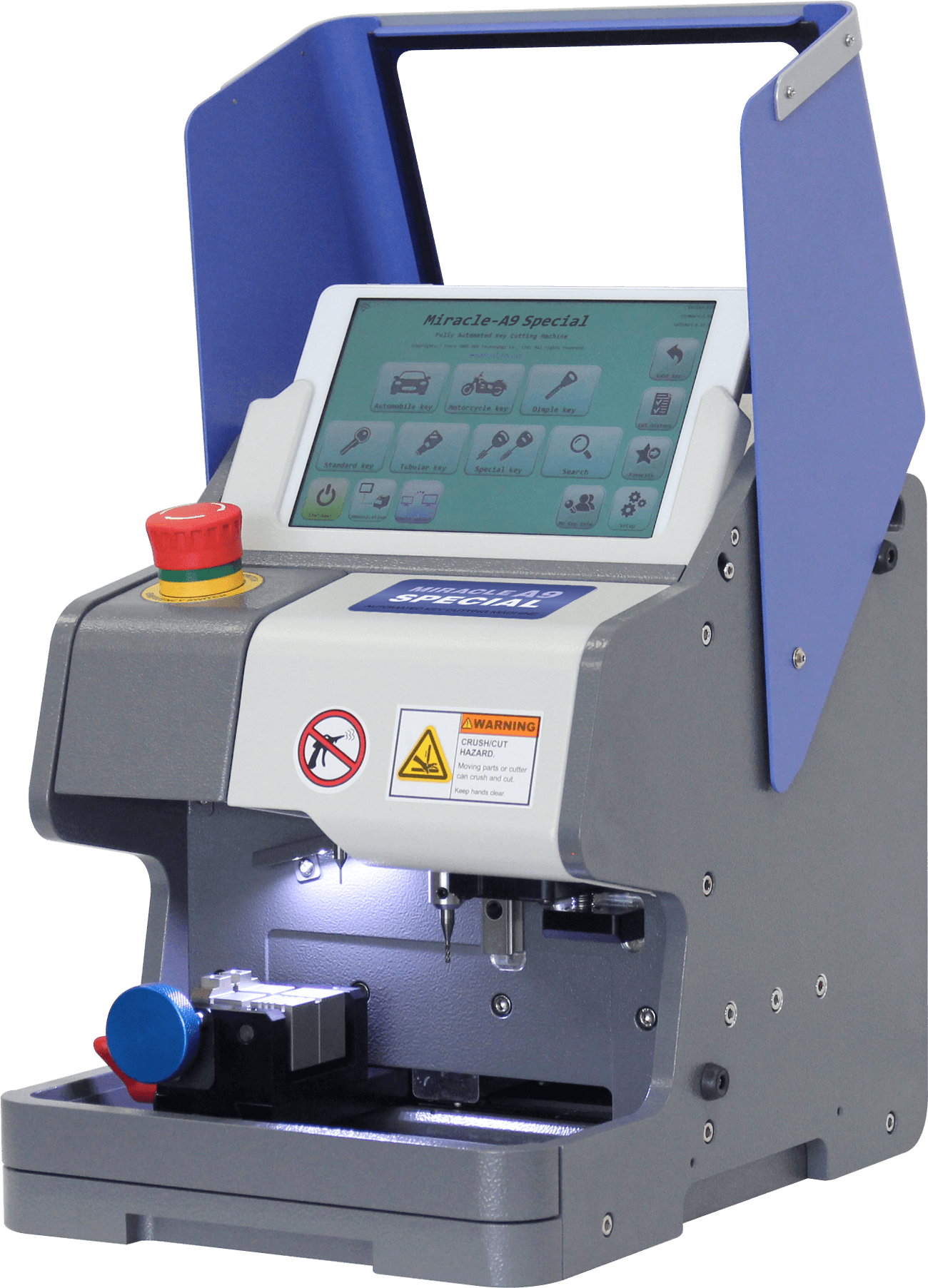 MIRACLE A9 SPECIAL KEY CUTTING MACHINE A9S BY REDT Miracle