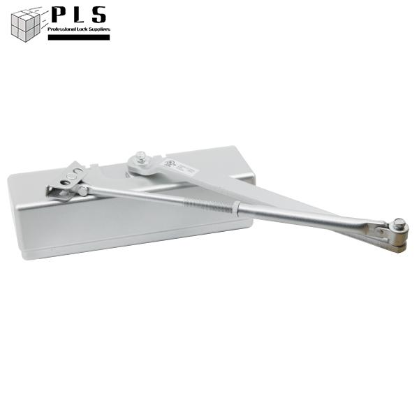 PLS DC330 AL Door Closer Series 3,finish 32d PLS
