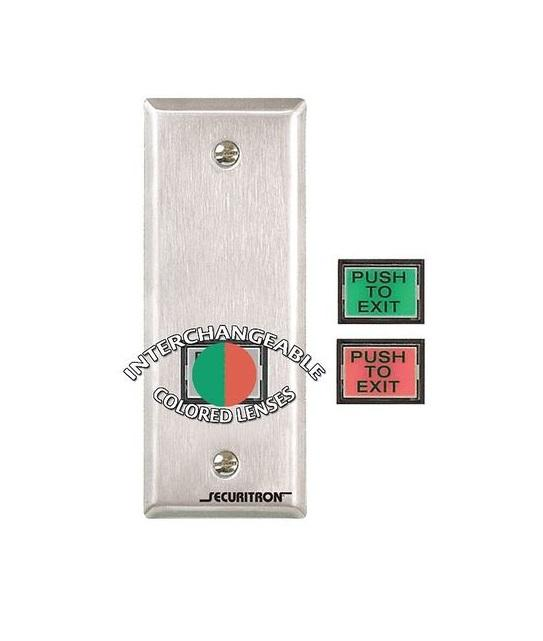 Securitron EEB3N Push to Exit Button, Emergency Securitron