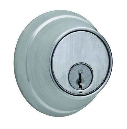 "Stanley Commercial Hardware QDB286-626 Deadbolt - Classroom with 2-3/4"" Backset and ASA Strike Satin Chrome Finish Stanley"