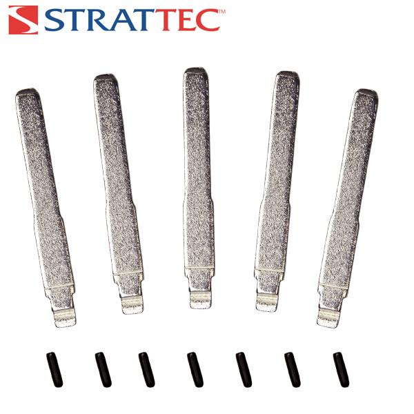 Strattec Blades & Pins, Ford Flip Key High Sec. Type. 5/pk Fusion - BAS 5925267 STRATTEC