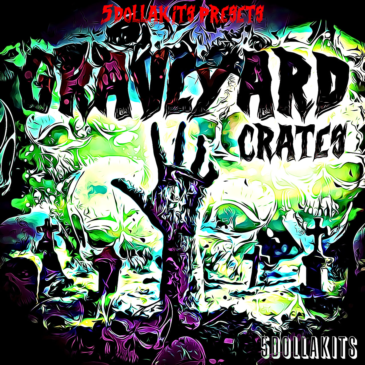 Graveyard Crates Drum Kit