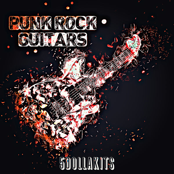 Punk Rock Guitars Loop Kit