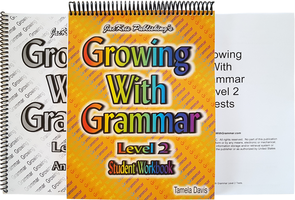 Growing With Grammar, Level 2, Complete Set