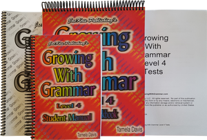 Growing With Grammar, Level 4, Complete Set