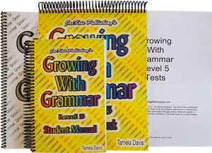 Growing With Grammar, Level 5, Complete Set
