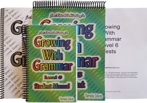 Growing With Grammar, Level 6, Complete Set