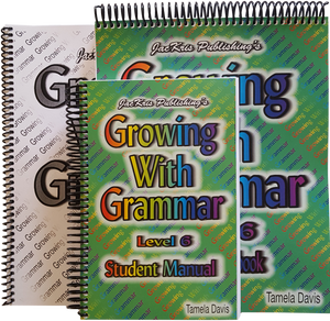 Growing With Grammar, Level 6, Student Manual, Student Workbook, and Answer Key