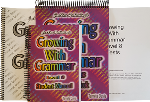 Growing With Grammar, Level 8, Complete Set