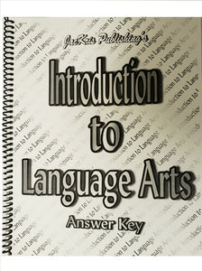 Introduction to Language Arts, Answer Key