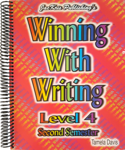 Winning With Writing, Level 4, Second Semester Workbook