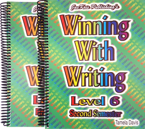 Winning With Writing, Level 6, First and Second Semester Workbooks