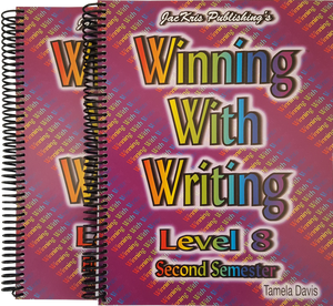 Winning With Writing, Level 8, First and Second Semester Workbooks