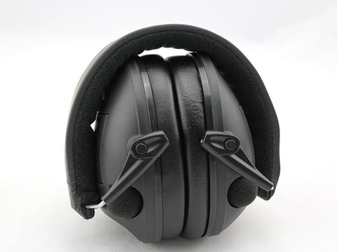 IPSC Electronic Tactical Earmuffs Anti-noise Hunting Shooting Hearing Ear Protector Soundproof Muff Protection