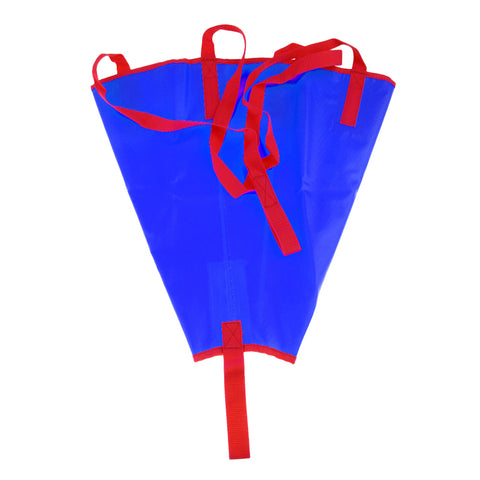 24/18 inch PVC Sea Anchor Drogue Sail Drift Brake for Kayak Canoe Boat Yacht 12-14/14-16ft Fising Inflatable Boat Accessories