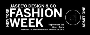 Jasee'O Design & Co. brings New York Fashion Week to Savannah