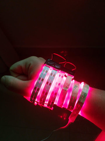 hand pain arthritis red light therapy photobiomodulation