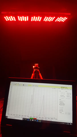 professional red light therapy measurement