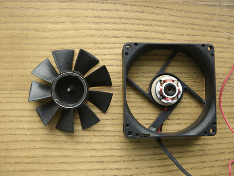 fan for red light therapy panel