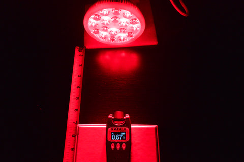Bestqool Red Light Therapy bulb flicker measurement