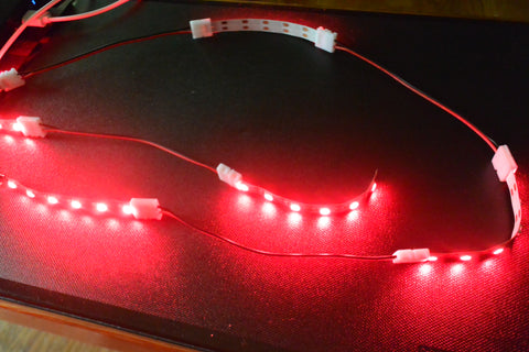 extended LED strip light usb gembared rave