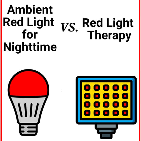 Red Light Bulbs vs Red Light Therapy panels