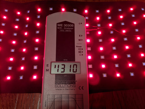 High EMF Red light Therapy Pad