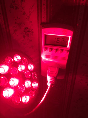 Wolezek Red Light Bulb Actual Watts