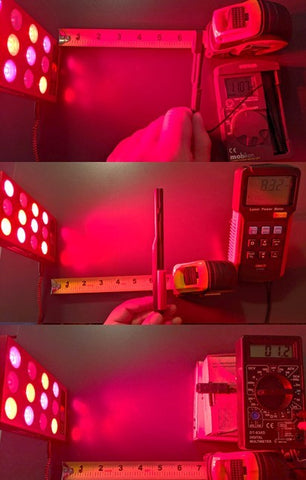 Laser Power Meter Red Light Therapy Photobiomodulation