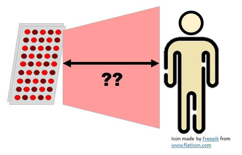 How Far to Be From Red Light Therapy Panel