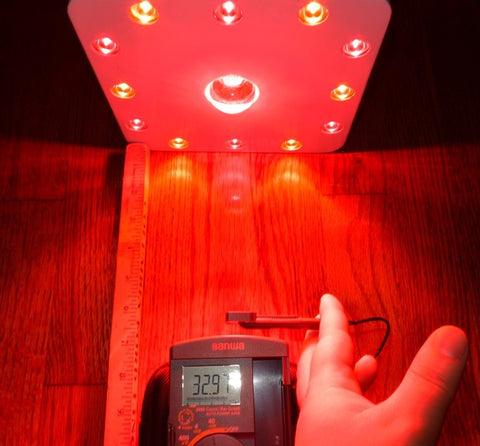 Intensity COB Red Light Therapy Photobiomodulation Red Light Panel