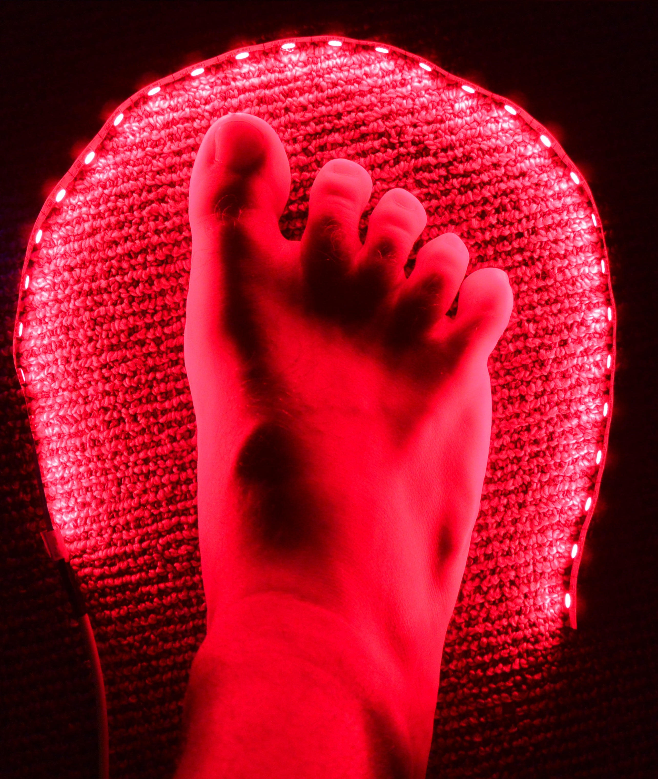 GembaRed Rave Red USB LED Night Light