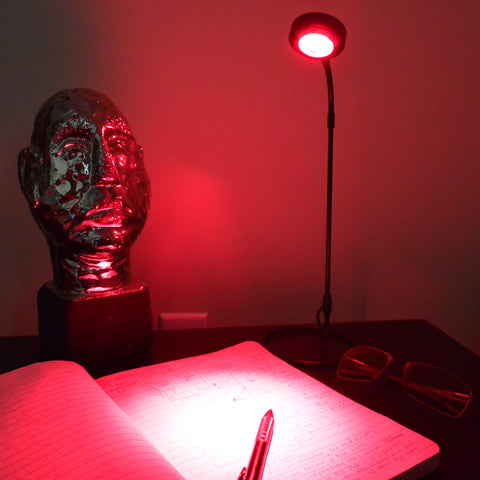 GembaRed Lire Red LED USB Desk Light