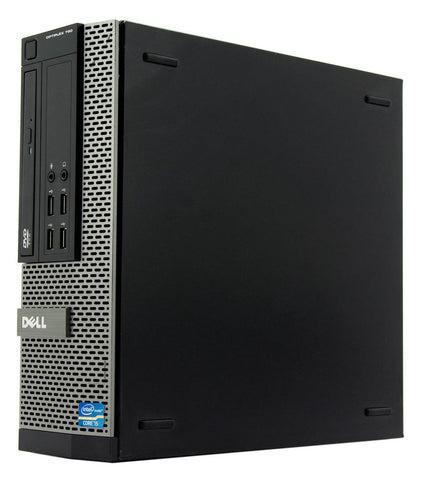 Dell OptiPlex 790 SFF PC, Intel Quad-Core i5-2400 3.10 GHz, 8GB RAM, 1TB Hard Drive, Windows 10 Home